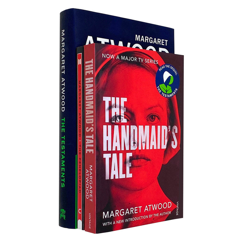 Margaret Atwood Collection 3 Books Set (The Handmaid's Tale, The Testaments [Hardcover], The Penelopiad)