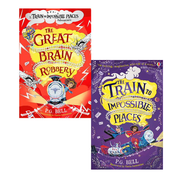 Train To Impossible Places Series 2 Books Collection Set By P.G. Bell