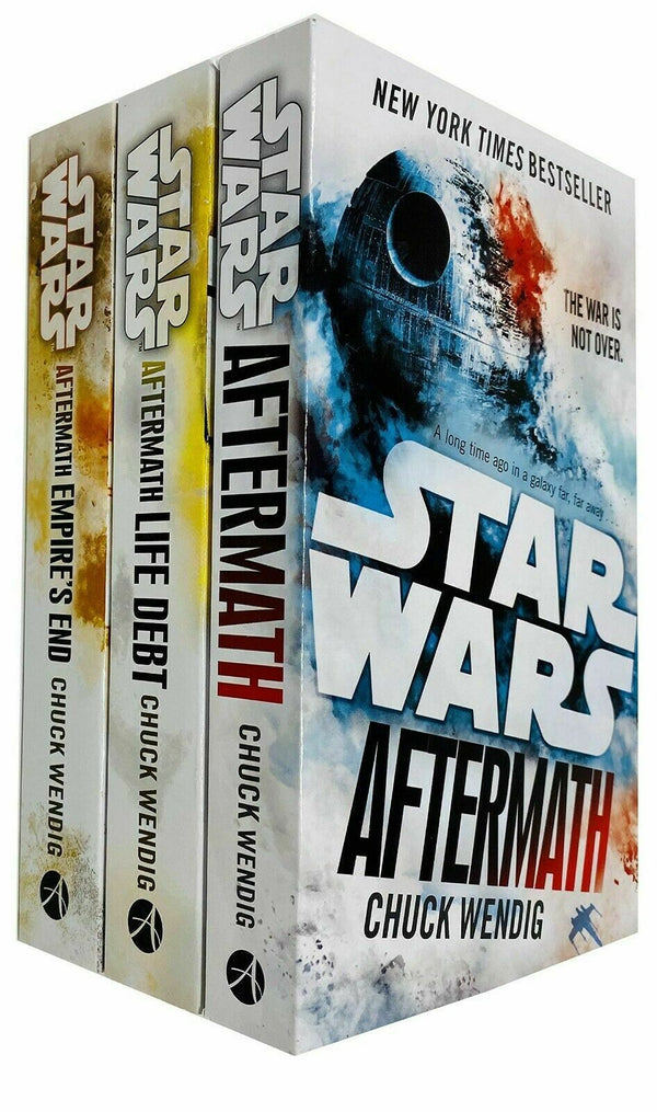 Star Wars Aftermath Trilogy 3 Books Collection Set By Chuck Wendig Life Debt