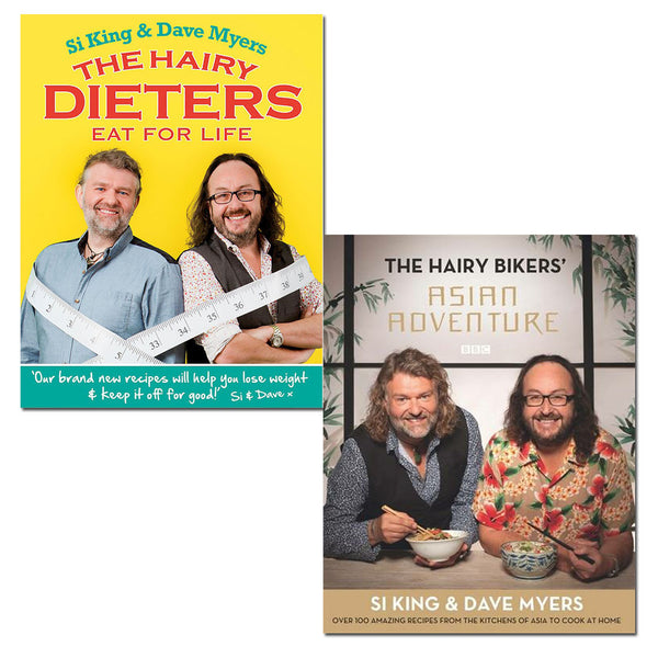 Hairy Bikers 2 Books Set Collection by Si King and Dave Myers