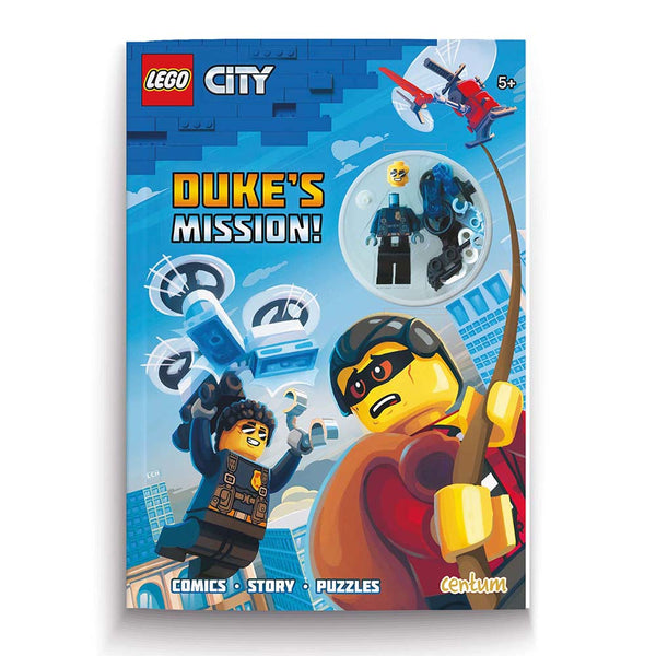 Lego City, Dukes Mission with Lego Mini Figure