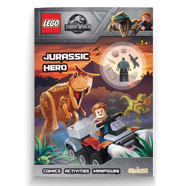 Lego Jurassic World Activity Book with Mini Action Figure, Dinosaurs...