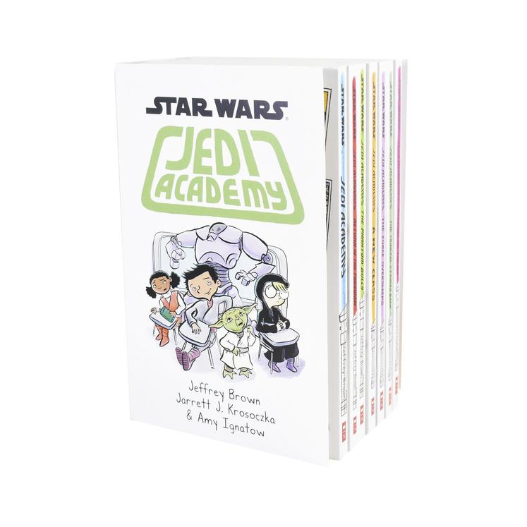 Star Wars Jedi Academy 7 Books Collection Set Return of the Padawan, Phantom Bully