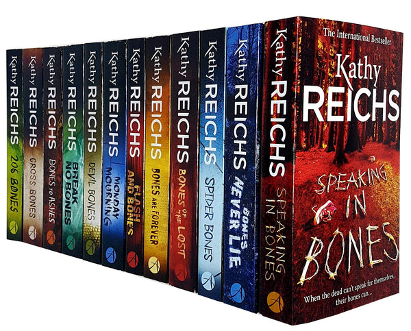 Kathy Reichs Temperance Brennan Series 12 Books Set Collection (Series 2-3)