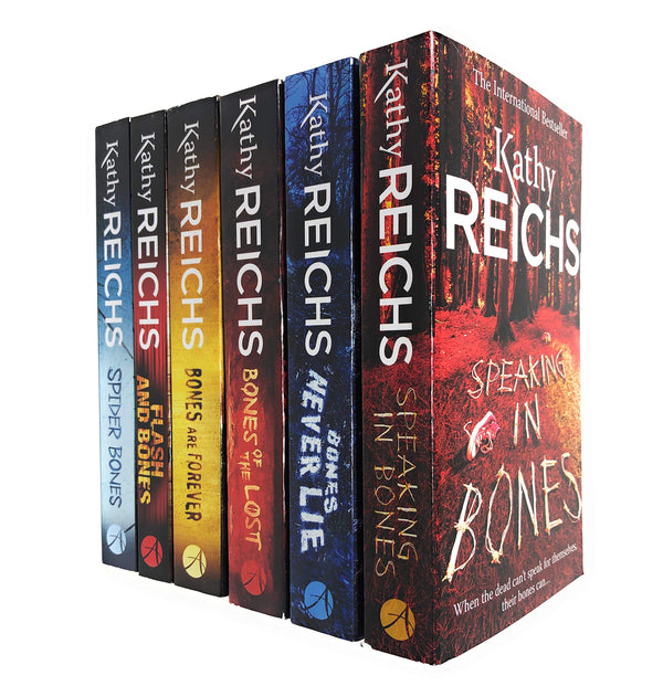 Kathy Reichs Temperance Brennan Series 6 Books Set Collection (Series 3)