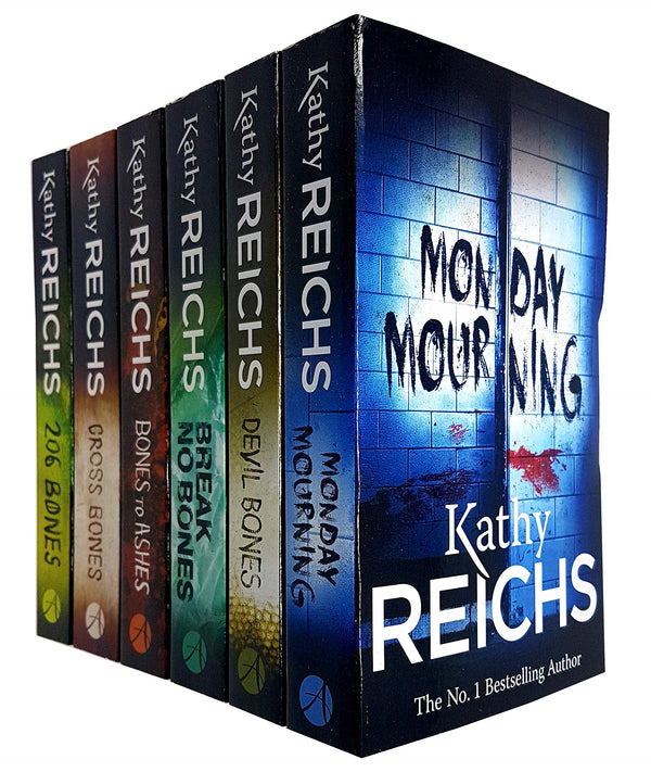 Kathy Reichs Temperance Brennan Series 6 Books Set Collection (Series 2)