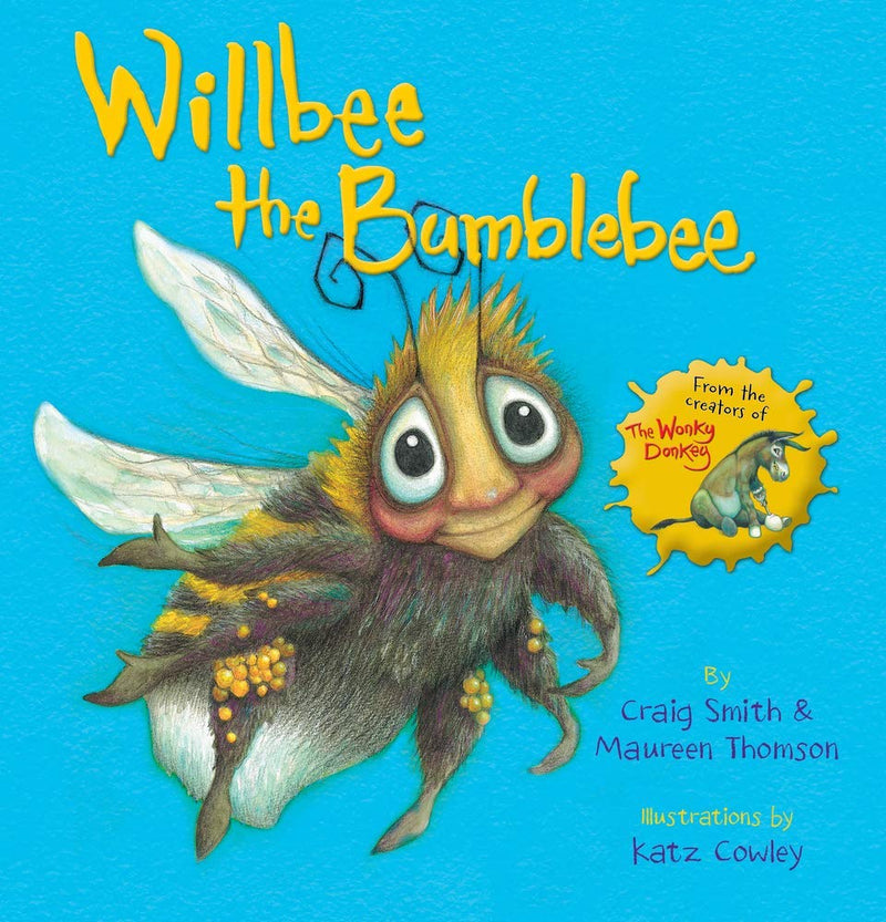 Wonky Donkey 3 Books Set Dinky Donkey, Willbee the Bumblebee by Craig Smith