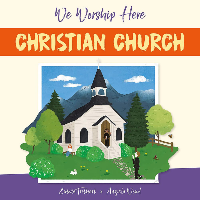 We Worship Here 6 Books Set By Angela Wood and Emma Trithart