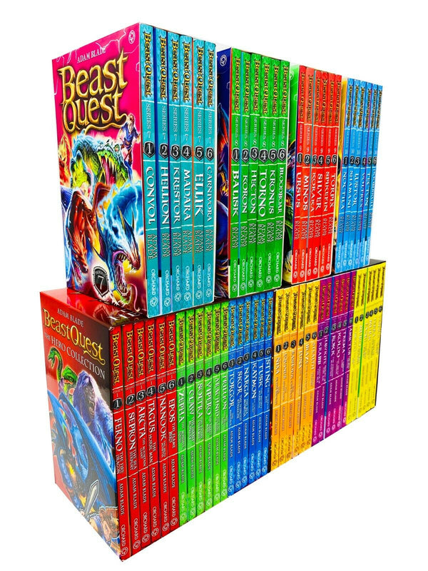 Beast Quest Ultimate MEGA Collection Series 1 - 10 Box Sets 60 Books Collection