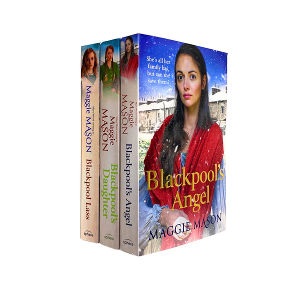 Maggie Mason 3 Books Set Collection Sandgronians Trilogy Blackpool's Angel