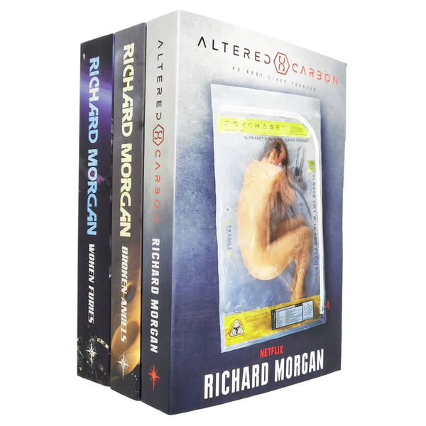 Richard Morgan Altered Carbon Netflix Collection 3 Books Set