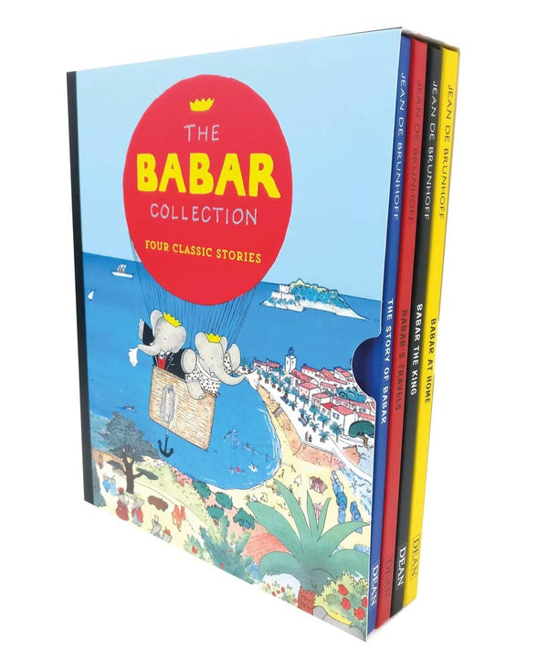 The Babar Collection: Four Classic Stories By Jean De Brunhoff (Babar at Home..)