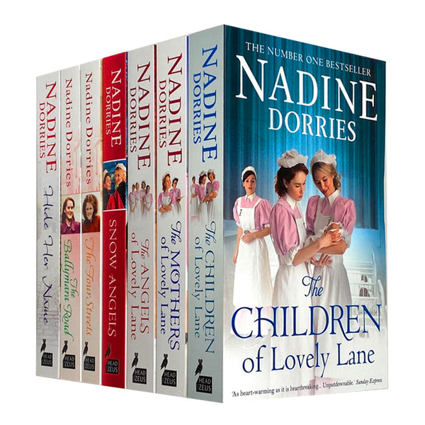 Lovely Lane And Four Streets Trilogy 7 Books Collection Set By Nadine Dorries