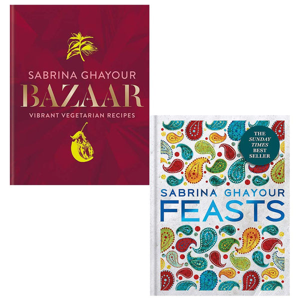 Bazaar, Feasts 2 Books Collection Set by Sabrina Ghayour