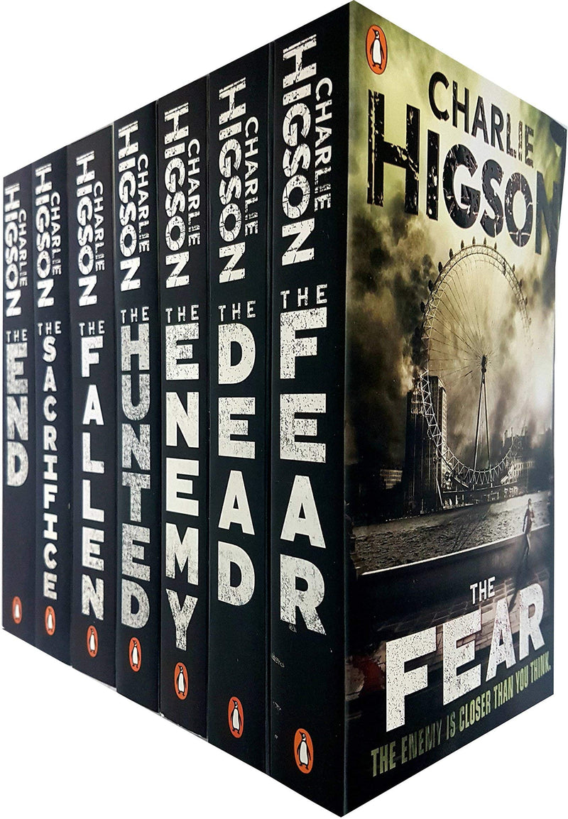 Charlie Higson The Enemy and Young Bond Series 12 Books Collection Set,