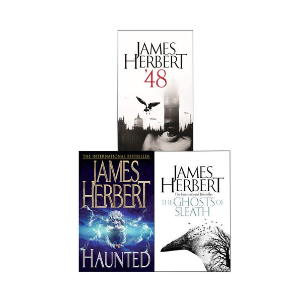 James Herbert Trilogy Collection 3 Books Set '48, Haunted