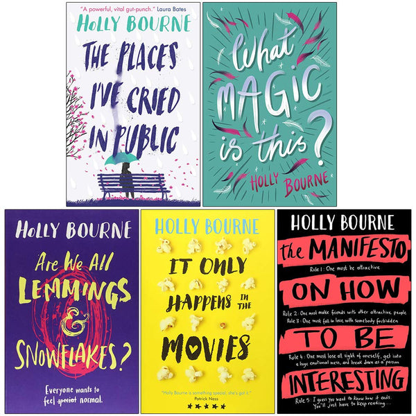 Holly Bourne Spinster Club Series 5 Books Collection Pack Set Am I Normal Yet