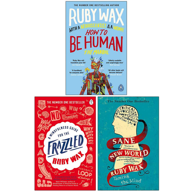 Ruby Wax Collection 3 Books Set