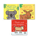 Thats Not My Animals 3 Books Collection Set By Fiona Watt