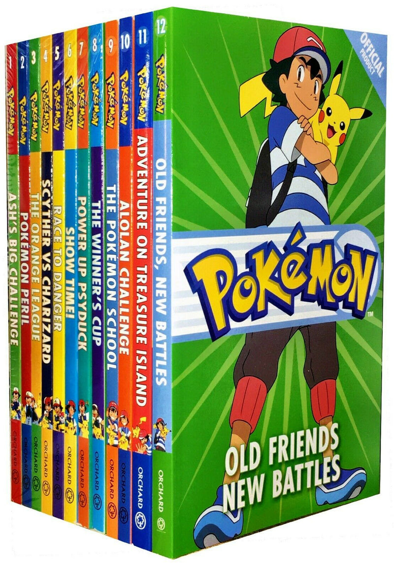 Pokemon Adventure Collection 12 Books Set Manga pack Winners Cup, Show time