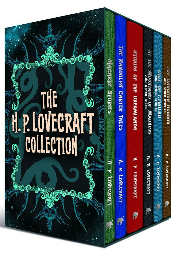 H P Lovecraft 6 Books Young Adult Collection Hardback Box Set By H P Lovecraft
