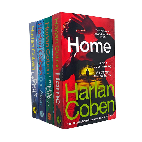 Harlan Coben The Stranger Series 4 Books Collection Set Now a NETFLIX Series