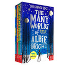 Christopher Edge 4 Books Collection Set Inc Jamie Drake Equation, Many Worlds of Albie Bright...