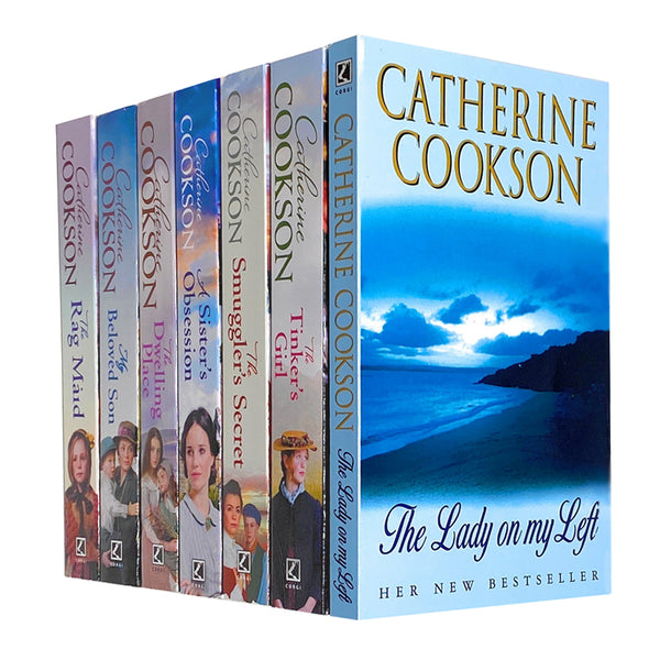 Catherine Cookson Collection 7 Books Set Inc My Beloved Son, The Smuggler's Secret...