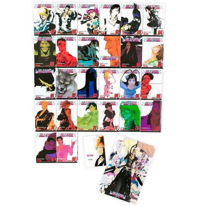 Bleach Box Set 3: Manga Volumes 49-74 Collection Pack By Tite Kubo, Anime