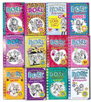 Dork Diaries Rachel Renee Russell Collection 12 Books Set Puppy Love, Drama Quee