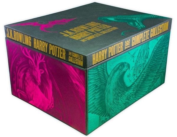 J K Rowling Harry Potter The Complete Collection 7 Hardback Box Set Books Box Set
