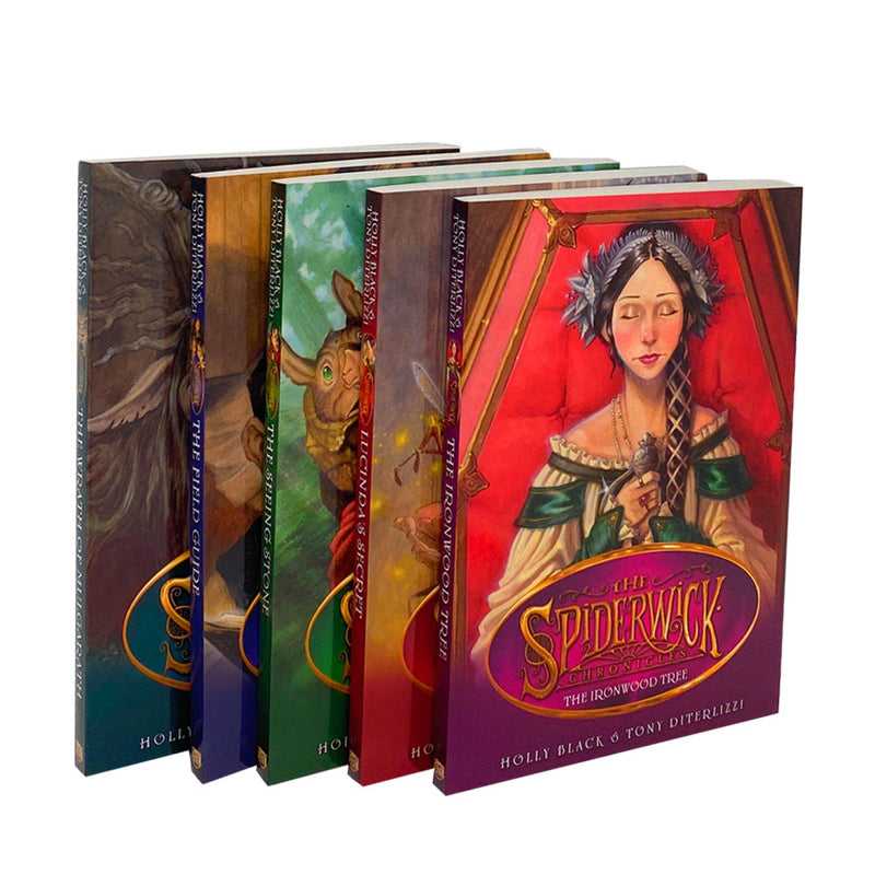 Spiderwick Chronicle Collection Holly Black 5 Books Set