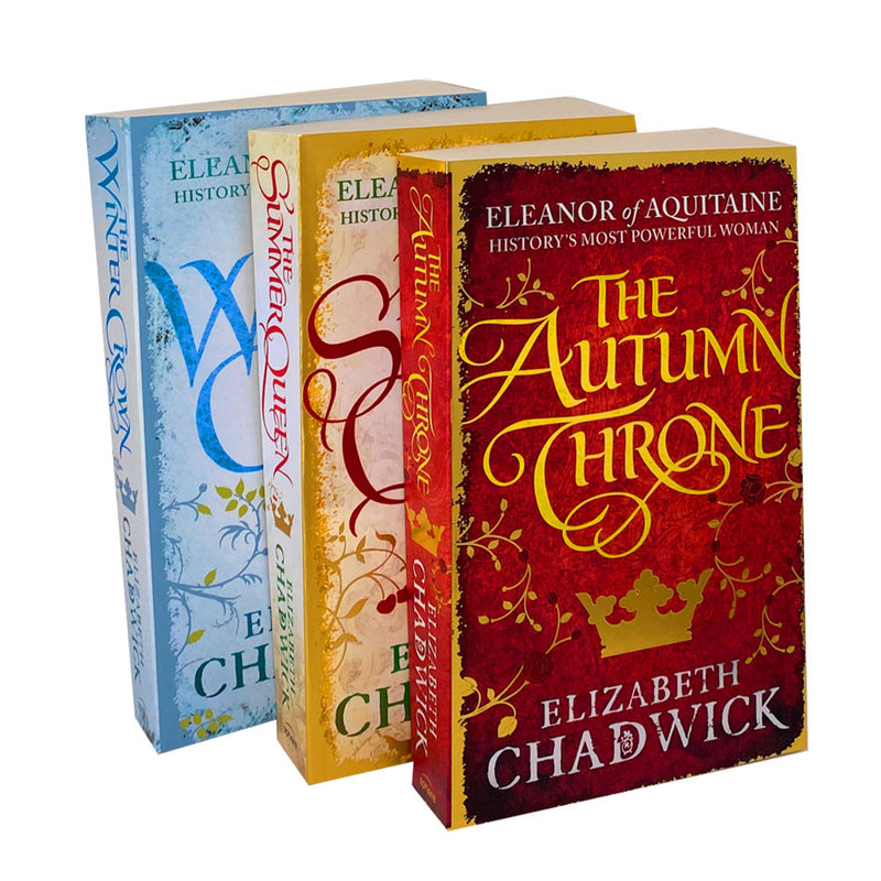 Eleanor of Aquitaine trilogy Collection 3 Books Set Pack By Elizabeth Chadwick