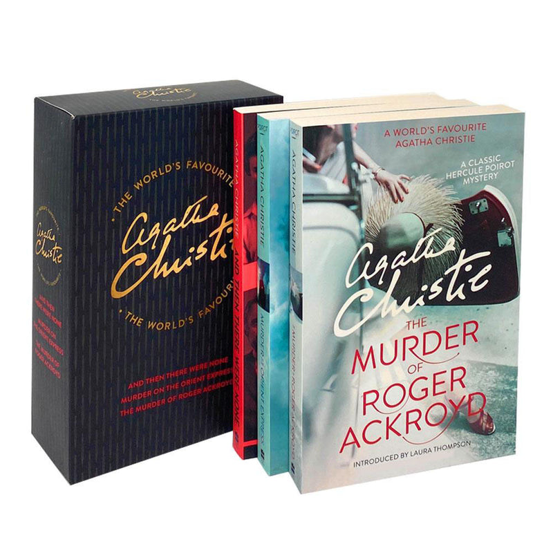 Agatha Christie The World's Favourite 3 Books Collection Box Set