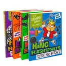 King Flashypants 4 Books Collection Set Toys of Terror, Evil Emper By Andy Riley