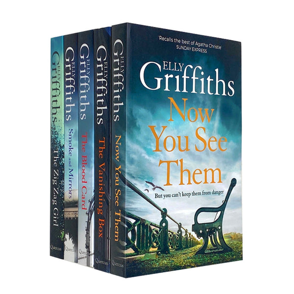 The Brighton Mysteries Series Books 1 -5 Collection Set By Elly Griffiths