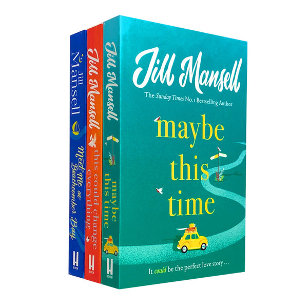 Jill Mansell 3 Book Set Collection Maybe This Time, This Could Change Everything