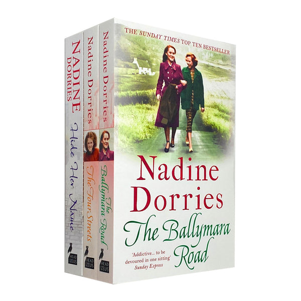 The Four Streets Trilogy 3 Book Collection Set Road Nadine Dorries Ballymara