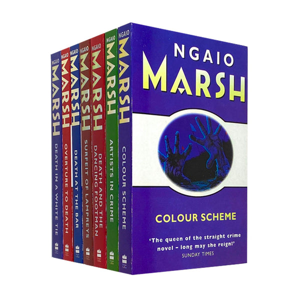 Ngaio Marsh Collection 7 Books Set Colour Scheme, Artists in Crime, Death at the