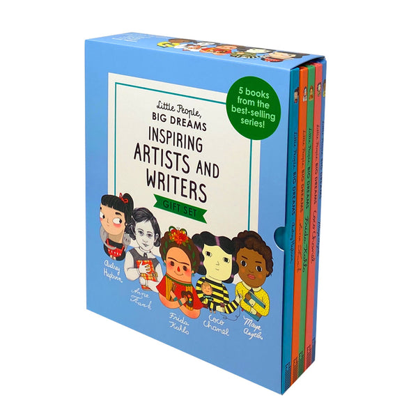 Little People, Big Dreams Inspiring Artists & Writers 5 Books Collection Box Set