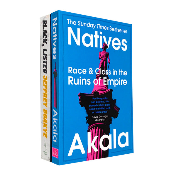 Black Listed Black British Culture and Natives 2 Book Set Collection