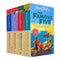 The Famous Five 12 Titles in 4 Books Collection Set For Children By Enid Blyton