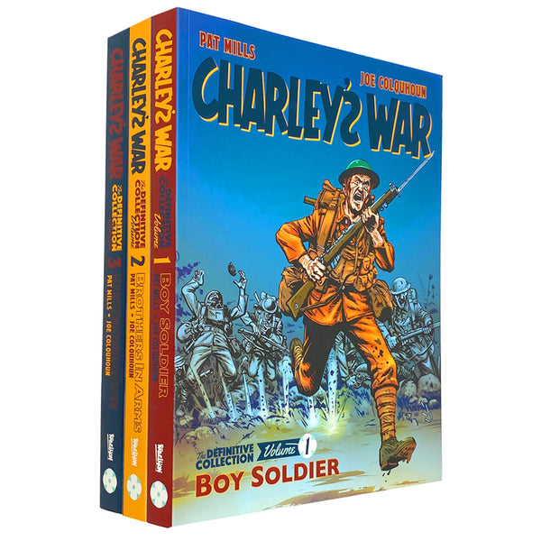 Charleys War The Definitive 3 Books Collection Set Boy Soldier, Brothers In Arms