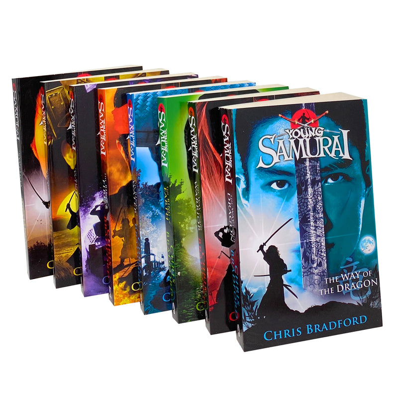 Young Samurai Series Collection Pack 8 Books Set By Chris Bradford