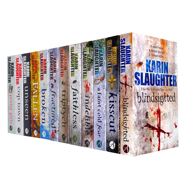 Karin Slaughter Will Trent Grant County Atlanta Series 12 Books Collection Set