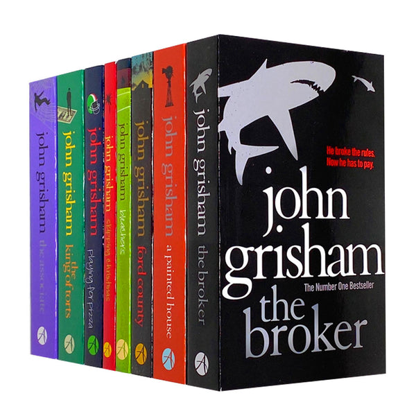John Grisham Collection 8 Books Set, The Broker, A Painted House...
