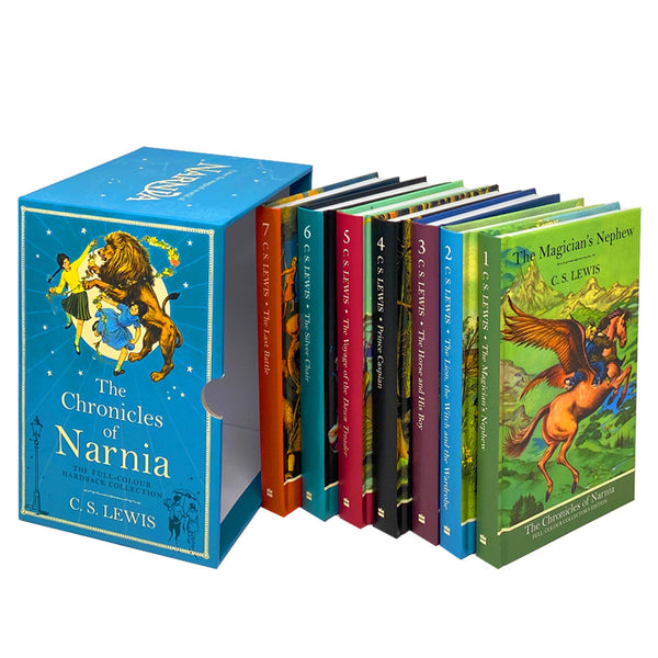 The Chronicles of Narnia Deluxe Hardback 7 Books Set Collection by C. S. Lewis