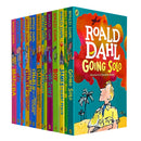 Roald Dahl 15 Books Set Collection New Covers, Going Solo, Matilda