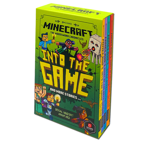 Minecraft: Into the Game The Woodsword Chronicles Collection, 4 Books Set