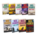 Dick Francis 9 Books Set Collection Pack Francis Thriller Series